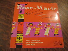 45 tours rose-marie oh! ma rose-marie
