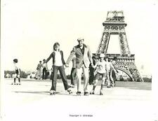 James Caan close up in Paris Torre Eiffel in Rollerball 1975 movie photo 22572