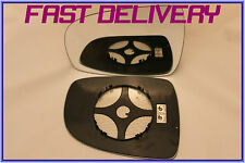 FITS NISSAN NOTE 2006-2012 DIRECT WING MIRROR GLASS CONVEX HEATED LEFT H/S
