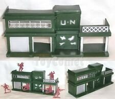 Military Headquarter Model Plastic Toy Soldier Army Men Accessory