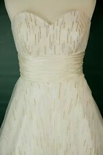NWT Jovani Size 4 Prom Formal Evening Long $400 Ball Gown Dress White Strapless