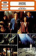 Movie Card. Fiche Cinéma. Hantise / The haunting (USA) Jean De Bont 1999