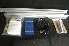 Solar Panel kit, glass, 36 solar cell, 1# Qsil 216, tabb, buss, diode, and flux