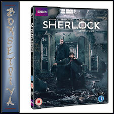 SHERLOCK - COMPLETE BBC SERIES 4 - FOURTH SERIES **BRAND NEW DVD ***