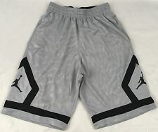 Nike Jordan Jumpman MEN'S Athletic Basketball Loose Shorts Grey 799544 Size M