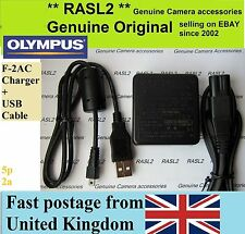 Genuine Olympus F-2AC AC ADAPTER charger D-730 FE-4050 FE-5035 FE-5040 T-100