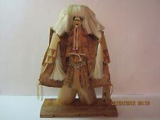 Vintage Japanese Kabuki Bamboo Doll Figure-Stunning Craftmanship & Wood Detail