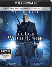 The Last Witch Hunter 4k UHD Blu Ray, 2016, Vin Diesel, with SLIP COVER