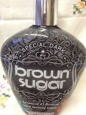 Tan Inc Special Dark Brown Sugar 45x Bronzer Indoor Tanning Bed Tan Lotion