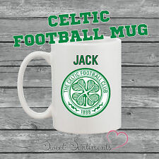 Personalised Celtic Football Mug - Perfect Gift For Any Fan - YOUR NAME