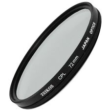 72mm CPL Circular Polarizer Filter for Nikon 18-200mm Canon 28-135mm Olympus