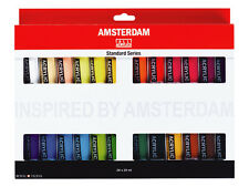 Amsterdam Acrylic Colour Paint Set - 24 x 20ml Tubes