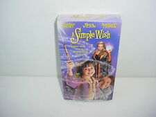A Simple Wish VHS Video Tape Movie New Martin Short Kathleen Turner