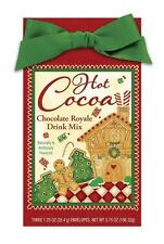 Gourmet Christmas CHOCOLATE ROYALE Hot Cocoa Mix HOME FOR THE HOLIDAYS Gift Pack
