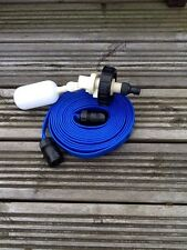 Caravan Motorhome Mains Water adapter kit for Aquaroll FLAT Food Grade Hose