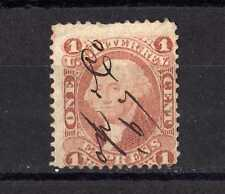 #063 US Stamp Scott#R1c 1c Express Revenue USED 1862