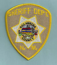 RIO ARRIBA COUNTY SHERIFF NEW MEXICO POLICE PATCH