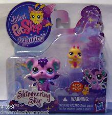 Littlest Pet Shop Glistening Garden Fairies #2708-2709 Brand New in Box