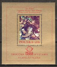 Poland - 1978 Stamp exhibition Praga - Mi. Bl. 73 MNH