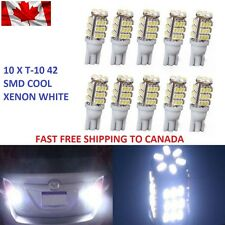 10 X Xenon White T10/921/194 42SMD Car LED Bulbs W5W RV Trailer Backup Reverse