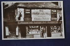 RPPC The Old Curiosity Shop London Postcard *DICKENS*