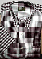 GITMAN BROTHERS 100% Cotton, Pullover with 3 button placket, Short Sleeve, NWOT
