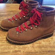 Vintage Lowa Mountaineering Boots Made in Germany Hiking Vibram Size 9 ?