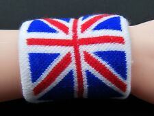 BRITISH BRITAN UK SPORTS COUNTRY FLAG WRISTBAND GYM SWEAT BAND