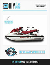 GS GSX RFI SEA DOO RED Seat Skin Cover 97 98 99 00 01