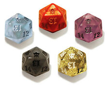 Magic the Gathering Dragons of Tarkir MTG - 5 D20 Dice Spin Down Set