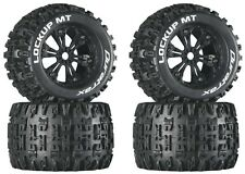 "Duratrax DTXC3578 Mounted Lockup MT 3.8"" Tires / Wheels (4) Revo 3.3 Savage XL"