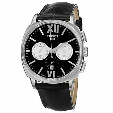 Tissot Mens T059.527.16.058.00 T Lord Leather Strap Chronograph Automatic Watch