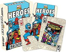 Marvel Heroes Retro set of  playing cards (nm 52326)