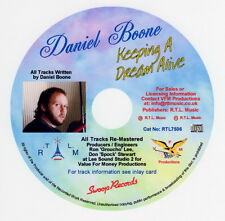 Daniel Boone, Keeping A Dream Alive CD  Cat No: RTL7506