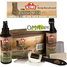 Kiwi Military Desert Boot Cleaner Protector Care Kit for Suede Nylon Boot *NEW*