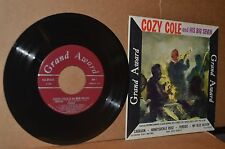 COZY COLE & HIS BIG SEVEN 1959 MINT- EXTENDED PLAY (EP) 45 & CARDBOARD COVER