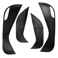 4pcs Carbon Fiber Door  Anti Kick Film Sticker For Hyundai Tucson 2015-2016