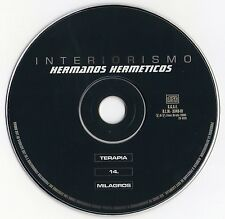"HERMANOS HERMETICOS ""INTERIORISMO"" RARE CD MAXI / HIP HOP - ZONA BRUTA - RAP"