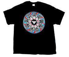 GRATEFUL DEAD - Circle - T-Shirt - Größe Size L - Neu