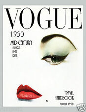 Vogue Fashion Reproduction Art Poster/Print/Model/In Vogue/Fashion