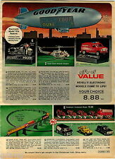 1978 ADVERTISEMENT Revell Goodyear Blimp Budweiser Clydesdale Tyco Train Model