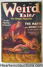 Weird Tales May 1937 H.P. Lovecraft; Jack Williamson Cover story