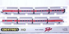 IBERTREN 2180 HO - SPANISH RENFE TALGO TEE ARTICULATED 8 COACH SET with LIGHTS