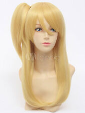 Fairy Tail Lucy Heartphilia Blonde Cosplay Party Wig Hair