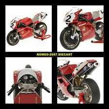 1:12 Minichamps Ducati Carl Fogarty World Champion SBK 1994 122941202 NEW!!