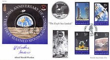 CC64 30th Ann Manned Moon Landing NASA 1999 cover hand signed WORDEN Apollo 15