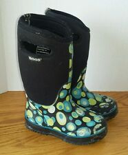 Bogs~-30~Classic High Bubbles~52268~Youth Size 13 (GUC)