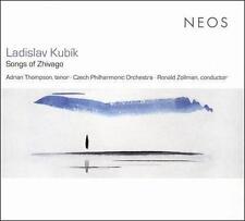 SACD Ladislav Kubik Songs of Zhivago BRAND NEW BIN FREE SHIP
