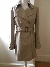 WOMEN TRENCH MAC COAT SIZE 16 UK USED IN GOOD CONDITION.