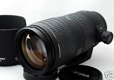 *EXC* Sigma AF 70-200mm F/2.8 APO EX Lens for Sony,Minolta w/ Hood From JAPAN